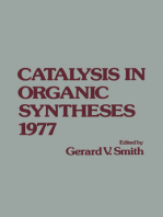 Catalysis in Organic syntheses 1977