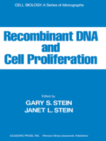 Recombinant DNA And Cell Proliferation