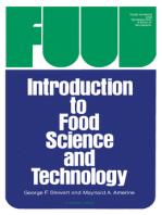 Introduction to Food Science and Technology
