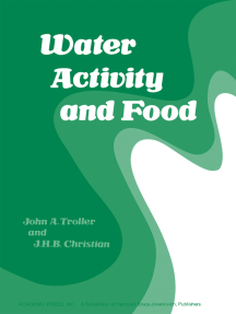 Water Activity and Food