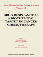Drug Resistance As a Biochemical Target in Cancer Chemotherapy