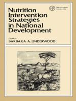 Nutrition Intervention Strategies in National Development