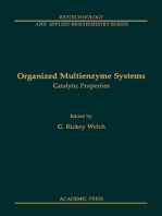 Organized Multienzyme Systems