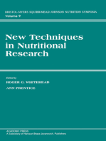 New Techniques in Nutritional research