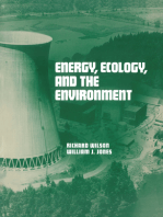 Energy, Ecology, and the Environment