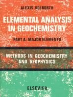 Elemental Analysis in Geochemistry