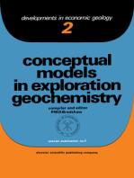 Conceptual Models In Exploration Geochemistry