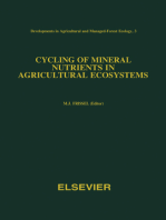Cycling of Mineral Nutrients in Agricultural Ecosystems