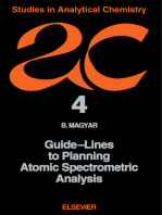 Guide-Lines to Planning Atomic Spectrometric Analysis