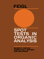 Spot Tests in Organic Analysis