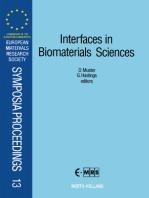 Interfaces in Biomaterials Sciences