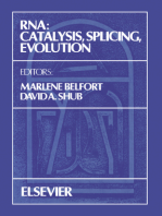 RNA: Catalysis, Splicing, Evolution