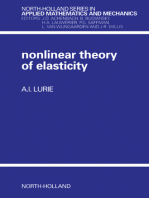 Non-Linear Theory of Elasticity