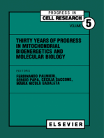 Thirty Years of Progress in Mitochondrial Bioenergetics and Molecular Biology