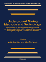 Underground Mining Methods and Technology