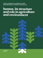 Humus, its Structure and Role in Agriculture and Environment