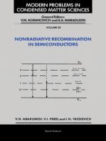 Nonradiative Recombination in Semiconductors