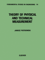 Theory of Physical and Technical Measurement