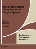 Mathematical Modelling of Environmental and Ecological Systems
