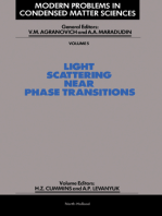 Light Scattering Near Phase Transitions