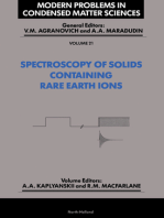 Spectroscopy of Crystals Containing Rare Earth Ions
