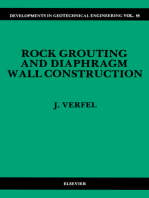 Rock Grouting and Diaphragm Wall Construction