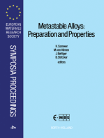 Metastable Alloys