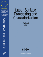 Laser Surface Processing and Characterization