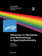 Advances in Standards and Methodology in Spectrophotometry