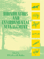 Bioindicators and Environmental Management