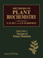 Enzymes of Primary Metabolism