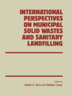 International Perspectives on Municipal Solid Wastes and Sanitary Landfilling