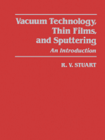 Vacuum Technology, Thin Films, and Sputtering