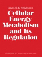 Cellular Energy Metabolism and its Regulation