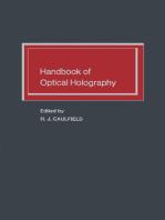Handbook of Optical Holography