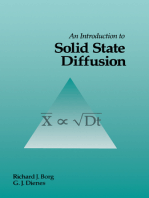 An Introduction to Solid State Diffusion