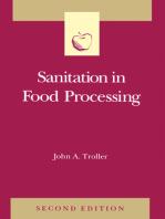 Sanitation in Food Processing