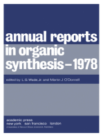 Annual Reports in Organic Synthesis — 1978