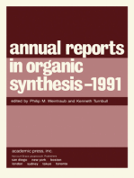 Annual Reports in Organic Synthesis — 1991