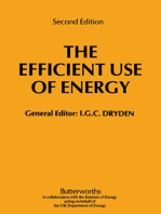 The Efficient Use of Energy