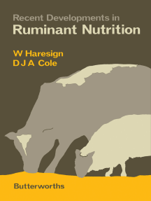 Recent Developments in Ruminant Nutrition
