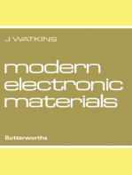 Modern Electronic Materials