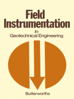 Field Instrumentation in Geotechnical Engineering: A Symposium Organised by the British Geotechnical Society Held 30th May–1st June 1973