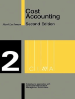 Cost Accounting: Stage 2