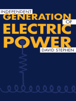 Independent Generation of Electric Power
