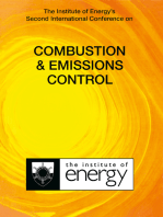 The Institute of Energy's Second International Conference on COMBUSTION & EMISSIONS CONTROL