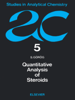 Quantitative Analysis of Steroids