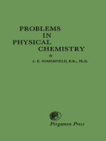 Problems in Physical Chemistry
