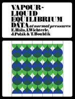 Vapour–Liquid Equilibrium Data at Normal Pressures