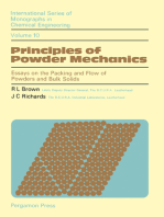 Principles of Powder Mechanics: Essays on the Packing and Flow of Powders and Bulk Solids